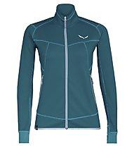 Salewa Puez Melange 2 - giacca in pile trekking - donna, Blue
