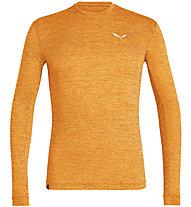 Salewa Puez Melange Dry - Langarmshirt Wandern - Herren, Orange
