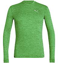 Salewa Puez Melange Dry L/S - maglia a maniche lunghe - uomo, Green