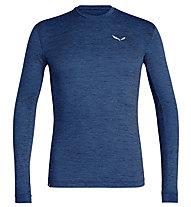 Salewa Puez Melange Dry - Langarmshirt Wandern - Herren, Dark Blue