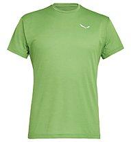 Salewa Puez Melange Dry - T-shirt trekking - uomo, Apple Green