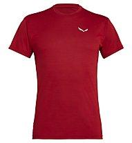 Salewa Puez Melange Dry - T-shirt trekking - uomo, Tango Red