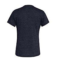 Salewa Puez Melange Dry - Funktionsshirt kurz - Herren, Dark Blue Melange