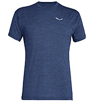 Salewa Puez Melange Dry - Funktionsshirt kurz - Herren, Blue/White