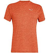 Salewa Puez Melange Dry - Funktionsshirt kurz - Herren, Orange/White