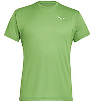 Salewa Puez Melange Dry - Funktionsshirt kurz - Herren, Green/White