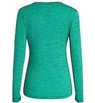 Salewa Puez Melange Dry - maglia a maniche lunghe - donna, Green