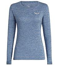 Salewa Puez Melange Dry - Langarmshirt Wandern - Damen, Light Blue
