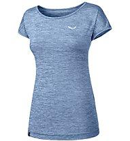 Salewa Puez Melange Dry - T-Shirt Kurzarm - Damen, Blue
