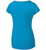 Salewa Puez Melange Dry - T-shirt trekking - donna, Azure Melange