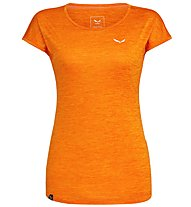 Salewa Puez Melange Dry - T-Shirt Kurzarm - Damen, Orange