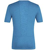 Salewa Puez Melange Hybrid Dry Tee - T-Shirt - Herren, Light Blue