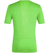 Salewa Puez Melange Hybrid Dry Tee - T-Shirt - Herren, Green
