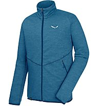 Salewa Puez Melange - Fleecejacke mit Kapuze - Herren, Light Blue