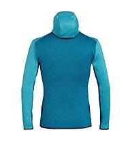 Salewa Puez Melange - giacca in pile trekking - uomo, Blue