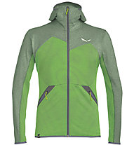 Salewa Puez Melange - felpa in pile - uomo, Green/Light Green