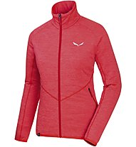 Salewa Puez Melange - giacca in pile - donna, Light Red