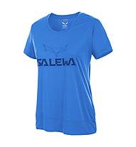 Salewa Puez Mountain DRY - T-shirt trekking - donna, Blue