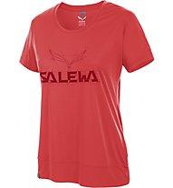 Salewa Puez Mountain DRY T-Shirt Damen, Hot Coral