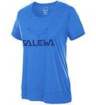 Salewa Puez Mountain Dry - T-Shirt Trekking - Damen, Blue