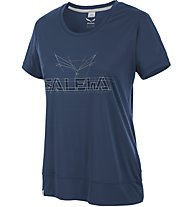 Salewa Puez Mountain Dry - T-Shirt Trekking - Damen, Dark Blue