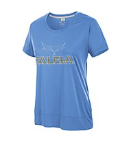 Salewa Puez Mountain Dry - T-Shirt Trekking - Damen, Vista Blue