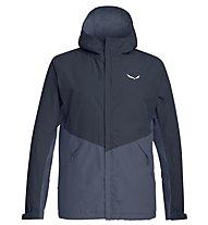 Salewa Puez PTX 2L - giacca hardshell trekking - uomo, Dark Blue/Blue