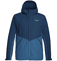 Salewa Puez 2L Powertex - Hardshelljacke Bergsport - Herren, Blue/Light Blue