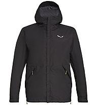 Salewa Puez PTX 2L - giacca hardshell trekking - uomo, Black