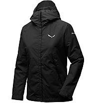 Salewa Puez PTX 2L - giacca hardshell - donna, Black