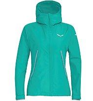 Salewa Puez PTX 2L - giacca hardshell - donna, Green