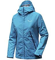Salewa Puez PTX 2L - giacca hardshell - donna, Azure