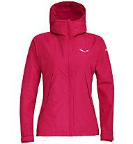 Salewa Puez PTX 2L - giacca hardshell - donna, Pink/White