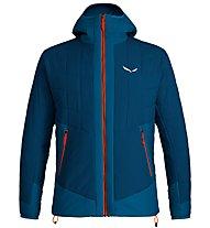 Salewa Puez TW CLT M Hood - giacca con cappuccio - uomo, Blue