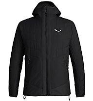 Salewa Puez TW CLT M Hood - giacca con cappuccio - uomo, Black