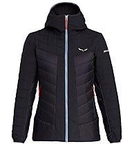 Salewa Puez Tw CLT W Hood - giacca con cappuccio - donna, Black