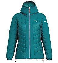 Salewa Puez Tw CLT W Hood - giacca con cappuccio - donna, Green
