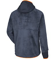Salewa Puez Warm - Fleecejacke mit Kapuze - Herren, Dark Blue/Orange