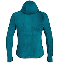 Salewa Puez Warm - Fleecejacke mit Kapuze - Herren, Light Blue/Green