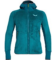Salewa Puez Warm Pl - giacca in pile - uomo, Light Blue/Green