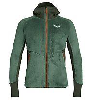 Salewa Puez Warm - Fleecejacke mit Kapuze - Herren, Dark Green