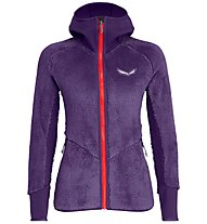 Salewa Puez Warm Pl - giacca in pile - donna, Violet/Red