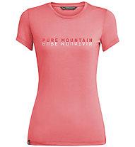 Salewa Pure Mountain Dry - T-Shirt - Damen, Pink