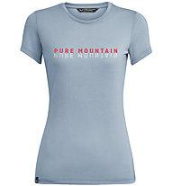 Salewa Pure Mountain Dry - T-Shirt - Damen, Azure