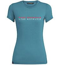 Salewa Pure Mountain Dry - T-Shirt - Damen, Light Blue