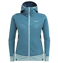 Salewa Pure Mountain Dry - Kapuzenjacke Trekking - Damen, Light Blue