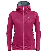 Salewa Pure Mountain Dry - Kapuzenjacke Trekking - Damen, Red