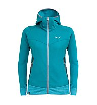 Salewa Pure Mountain Dry - Kapuzenjacke Trekking - Damen, Blue