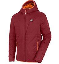 Salewa Rasciesa 2 giacca con cappuccio trekking, Velvet Red
