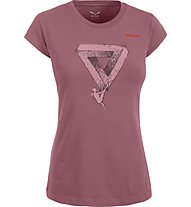 Salewa Realization - T-shirt arrampicata - donna, Antique Rose